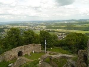Burg Olbrück Burgpanorama