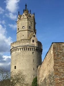 runder Turm neu